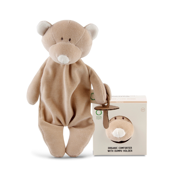 organic teddy bear soother holder