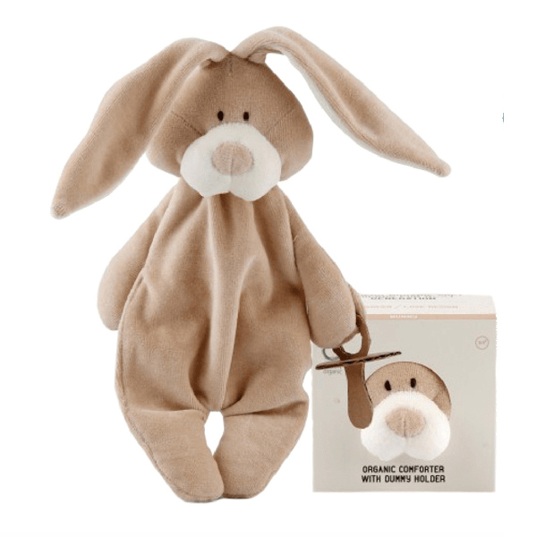 organic baby toy rabbit