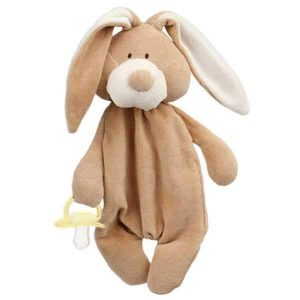 organic soother holder baby toy