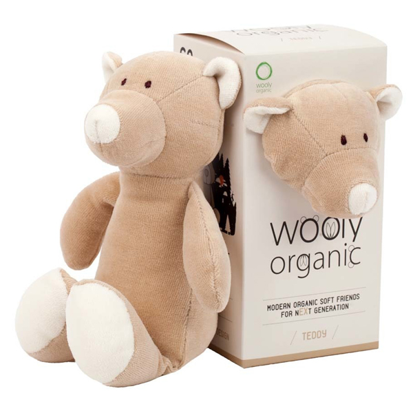 organic toy teddy bear