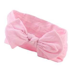pink baby bow headbands