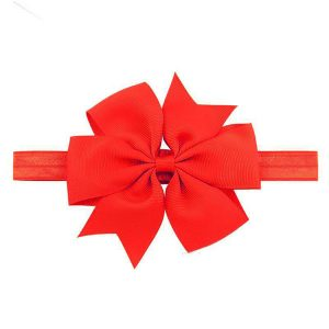 red baby hair bows