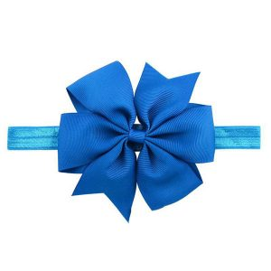 royal blue baby hair bows