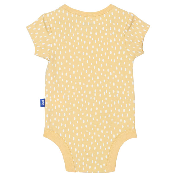 organic baby cotton bodysuit