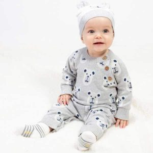 organic cotton baby romper suit