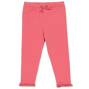 organic cotton baby girl leggings