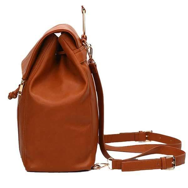 baby changing bags vegan leather