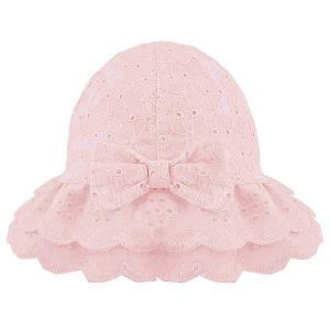 pink baby girl hat