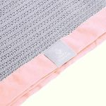 pink baby blankets cellular