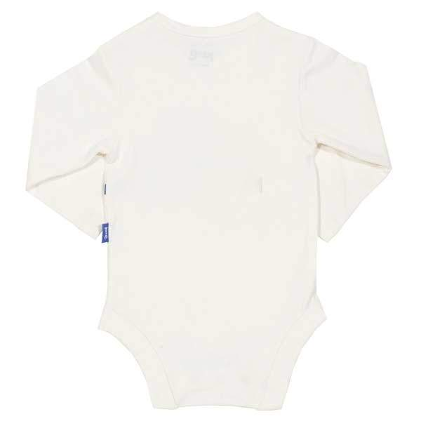 organic cotton long sleeve baby vest