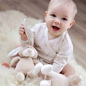 organic cotton baby sleep suit