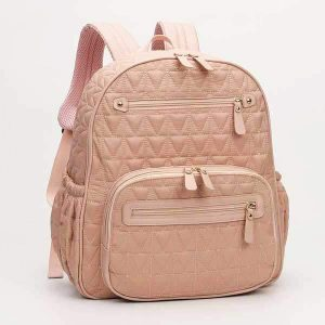 pink baby changing bag backpack