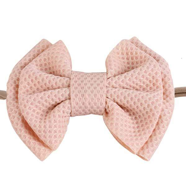 pink bow headbands for girls
