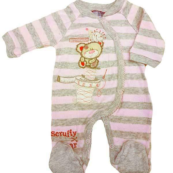 premature girl babygrow