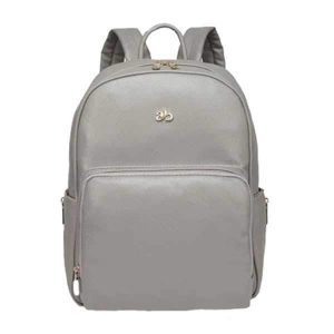 grey backpack changing bags