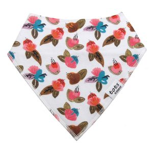 organic cotton baby girl bandana bibs