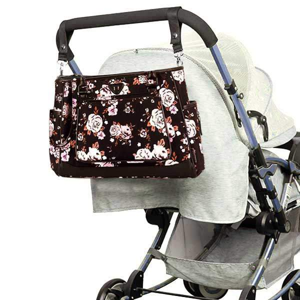 floral baby changing bags