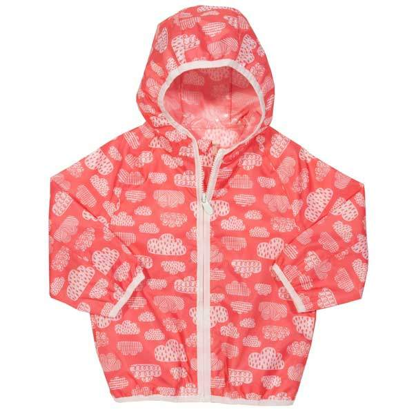girls windproof raincoat