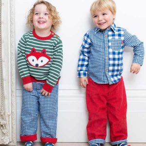 organic knitted childrens jumper
