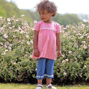 organic cotton girls clothing set