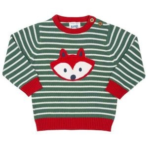 organic knitted boys jumper