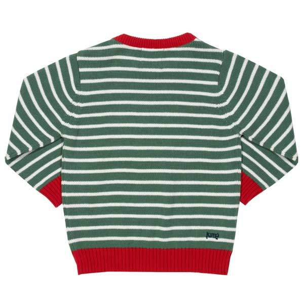 organic knitted boys top