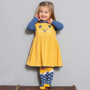 organic cotton girls dress