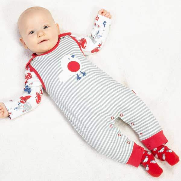 organic cotton christmas baby clothes