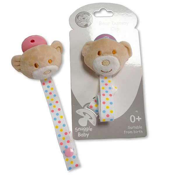 baby girl soother clip