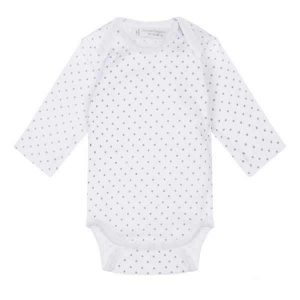 long sleeved baby bodysuit organic cotton