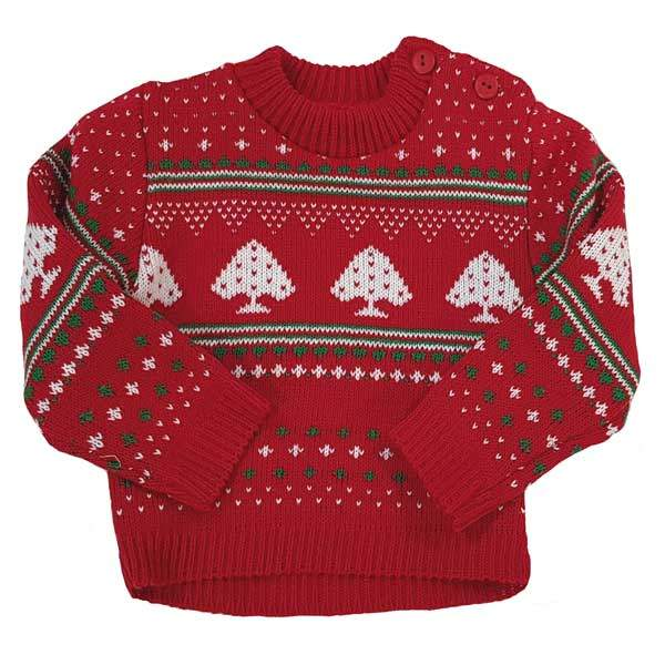 christmas baby jumper