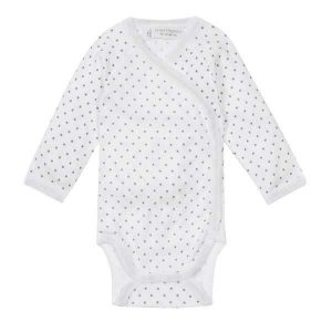 organic cotton long sleeve baby bodysuit