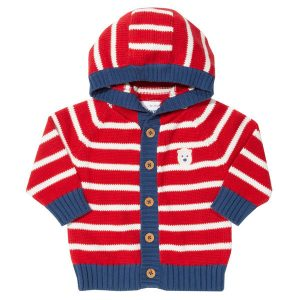 organic knitted baby jacket