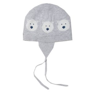 organic winter baby hat
