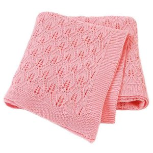 baby girl cellular blanket