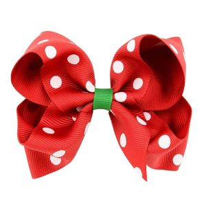 girls christmas hair bows