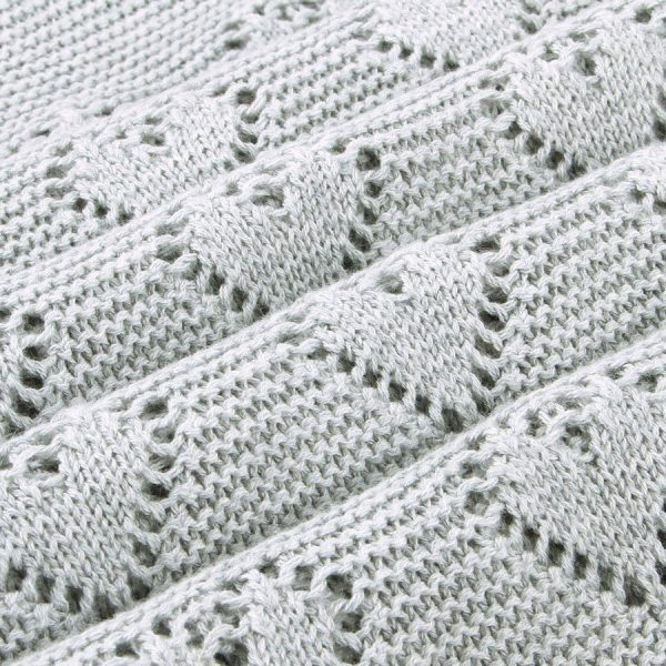 luxury knitted baby blankets