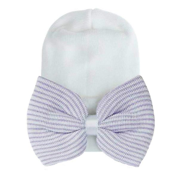 newborn baby hat bow