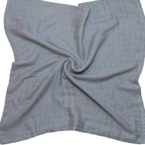 breathable baby muslins grey