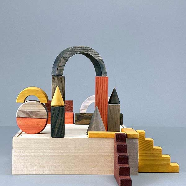 kids wooden toys blocks