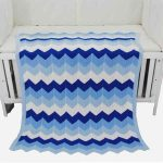 otganic cotton knitted baby blanket