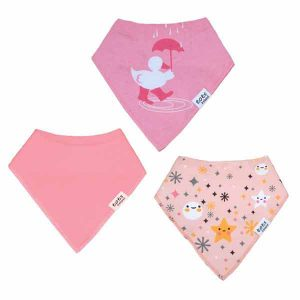 pink bandana baby bbis for girls