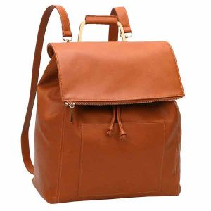 vegan leather baby changing bag backpack