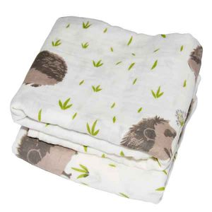 organic muslin squares baby swaddling cloth