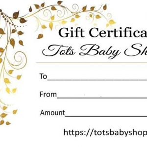 online baby gift card certificates