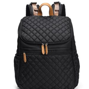 black baby changing bag backpack