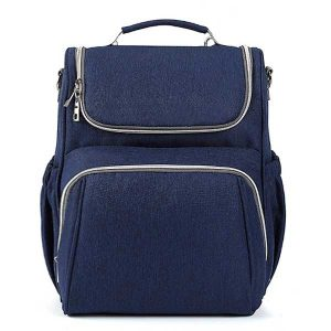 navy baby changing bag backpack