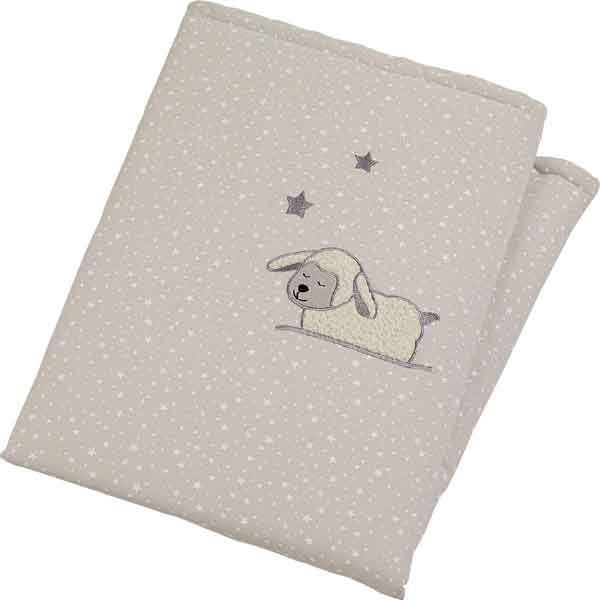 padded baby cot blanket
