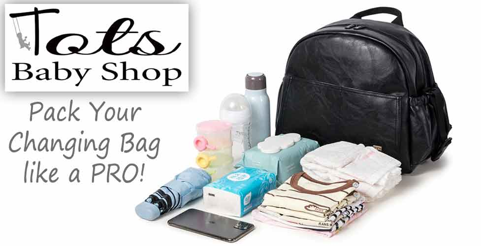 what to pack in your baby changing bag